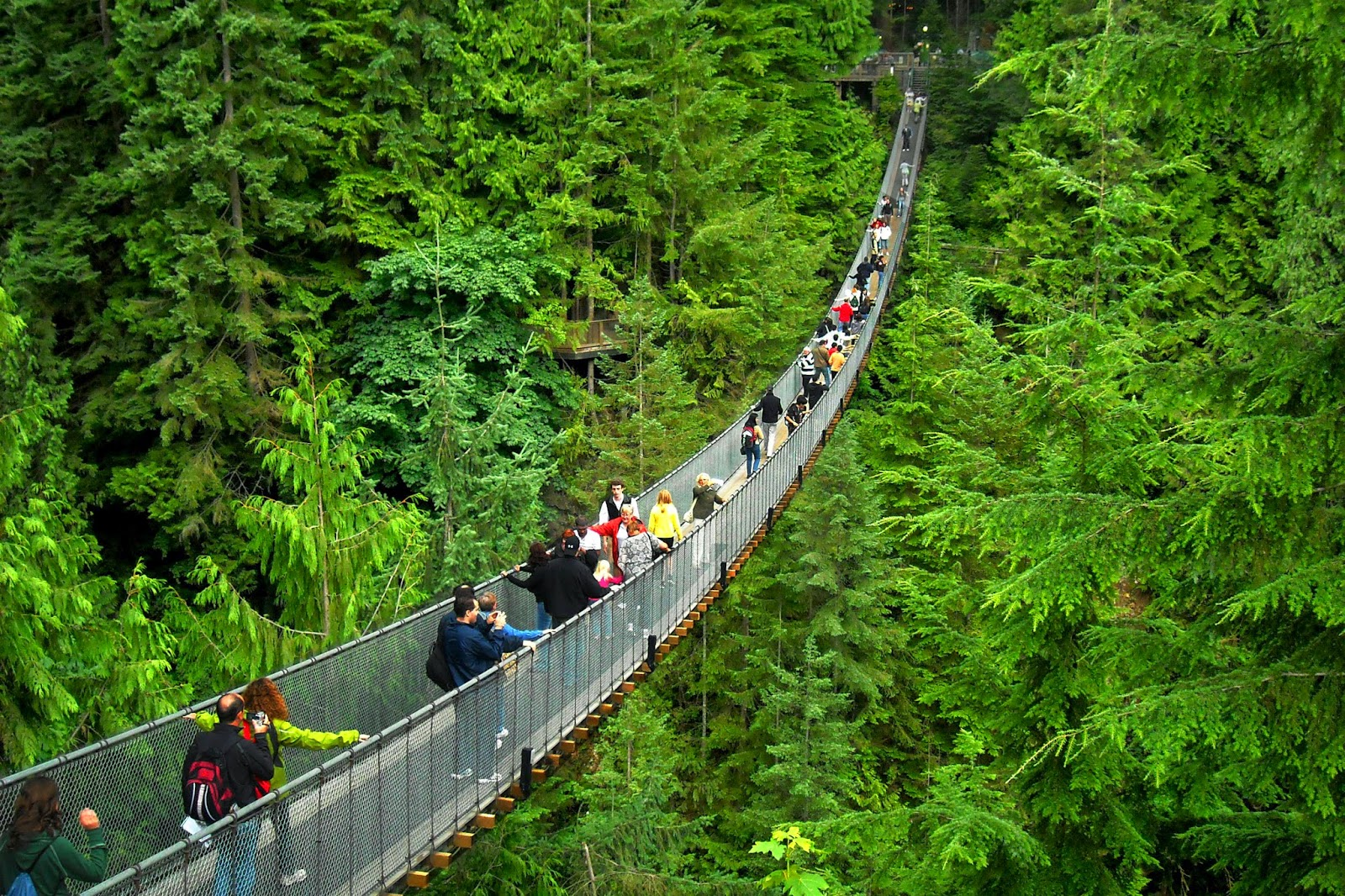 Turismo-Canada-Vancouver-Capilano-Suspension-Bridge
